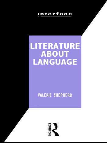 Literature About Language book cover