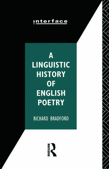 A Linguistic History of English Poetry book cover