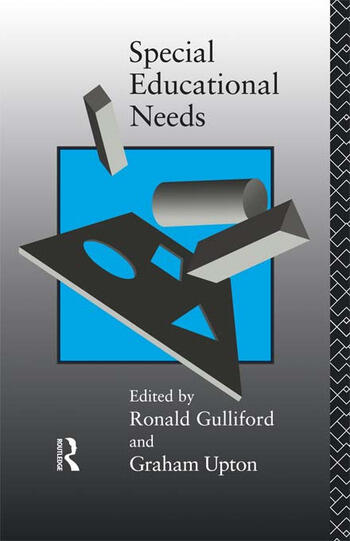 Special Educational Needs book cover