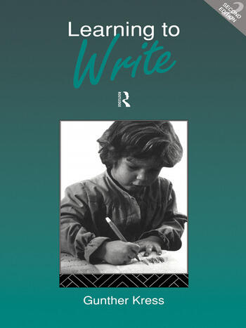 Learning to Write book cover