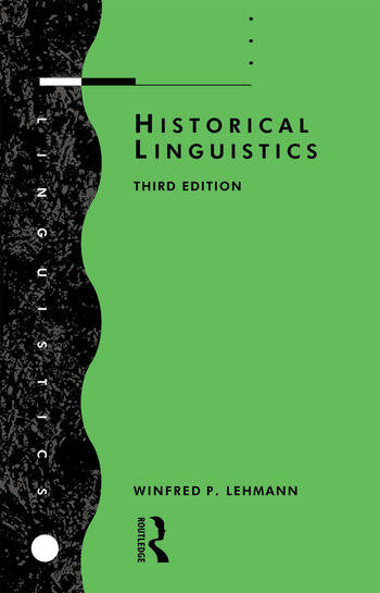 Historical Linguistics An Introduction book cover