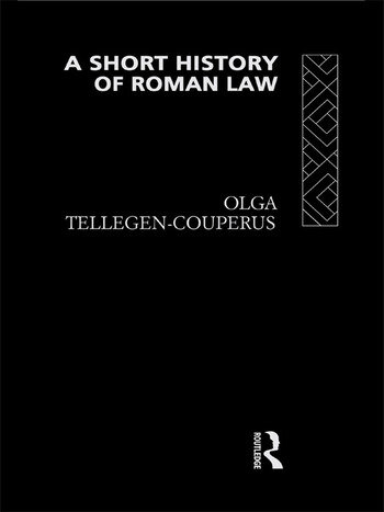 A Short History of Roman Law book cover