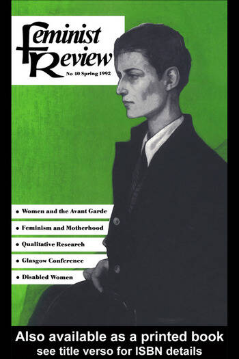 Feminist Review Issue 40 book cover