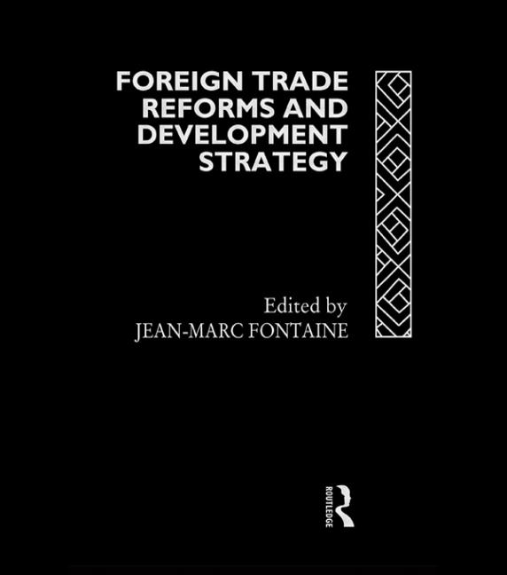 Foreign Trade Reforms and Development Strategy book cover