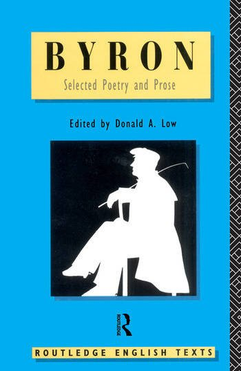 Byron: Selected Poetry and Prose book cover