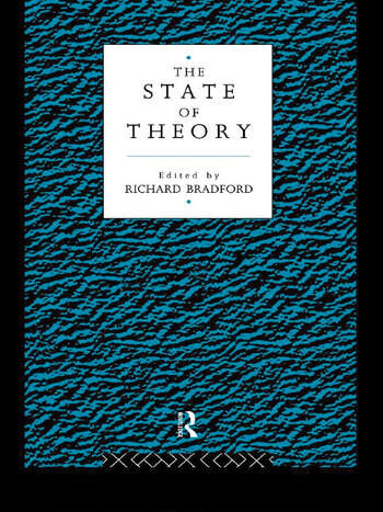The State of Theory book cover