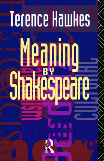 Meaning by Shakespeare book cover