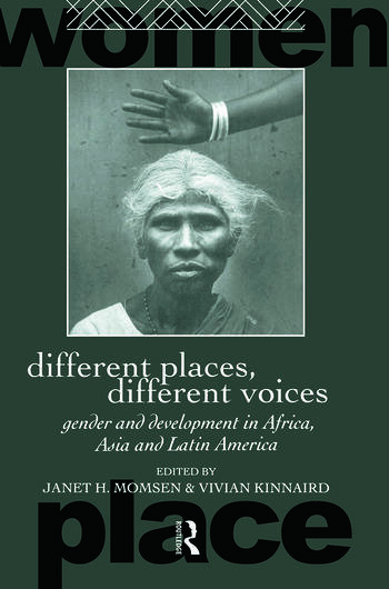 Different Places, Different Voices Gender and Development in Africa, Asia and Latin America book cover