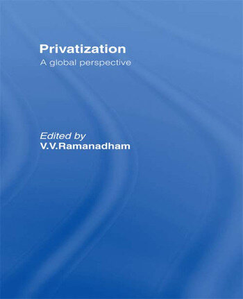 Privatisation A Global Perspective book cover