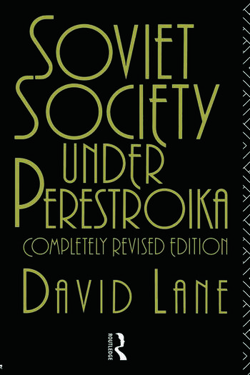 Soviet Society Under Perestroika book cover