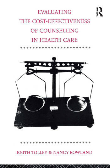 Evaluating the Cost-Effectiveness of Counselling in Health Care book cover
