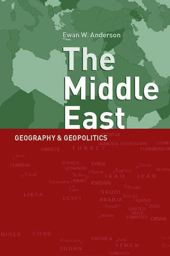 Middle East Geography and Geopolitics book cover