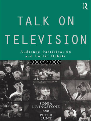 Talk on Television Audience Participation and Public Debate book cover