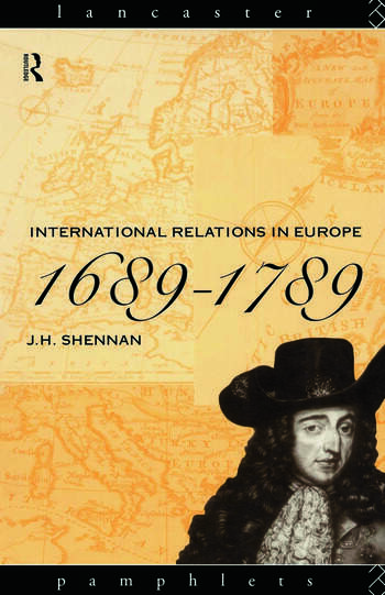 International Relations in Europe, 1689-1789 book cover
