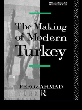 The Making of Modern Turkey book cover