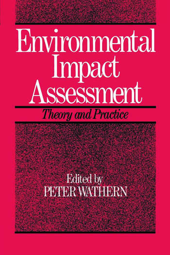 Environmental Impact Assessment Theory and Practice book cover
