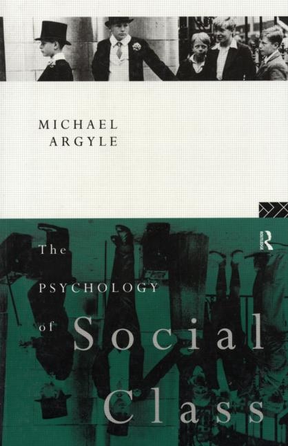 The Psychology of Social Class book cover