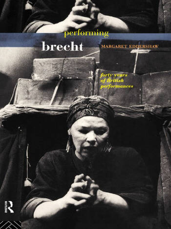 Performing Brecht book cover