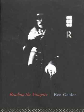 Reading the Vampire book cover