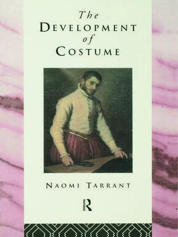 The Development of Costume book cover