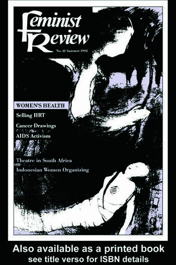 Feminist Review Issue 41 book cover