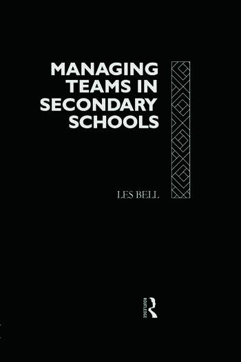 Managing Teams in Secondary Schools book cover