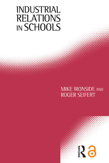Industrial Relations in Schools book cover