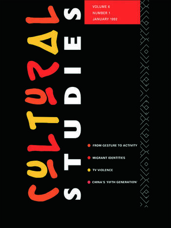 Cultural Studies Volume 6, Issue 1 book cover