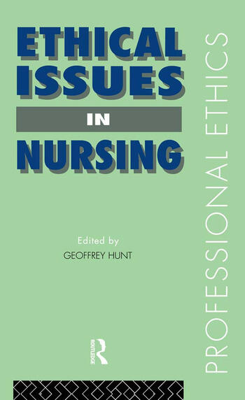 Ethical Issues in Nursing book cover