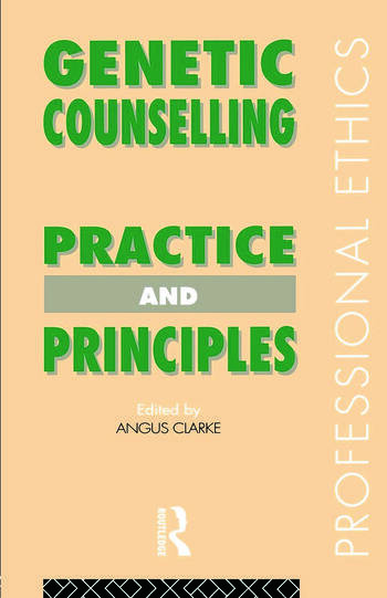 Genetic Counselling Practice and Principles book cover
