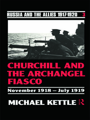 Churchill and the Archangel Fiasco book cover