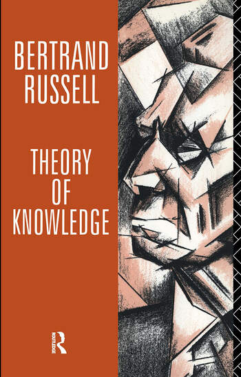 Theory of Knowledge The 1913 Manuscript book cover