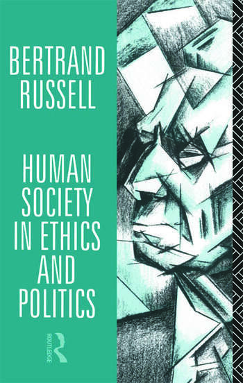 Human Society in Ethics and Politics book cover