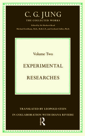 Experimental Researches book cover