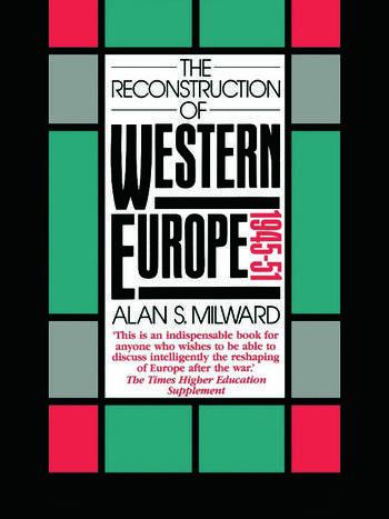 The Reconstruction of Western Europe, 1945-51 book cover
