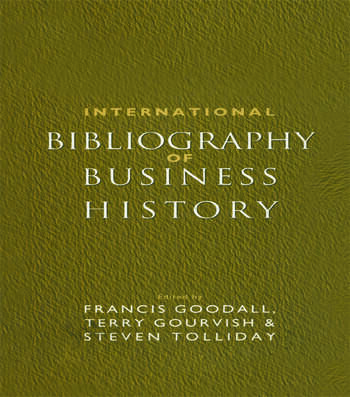 International Bibliography of Business History book cover