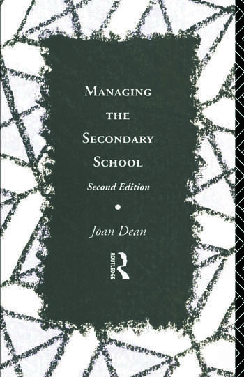 Managing the Secondary School book cover