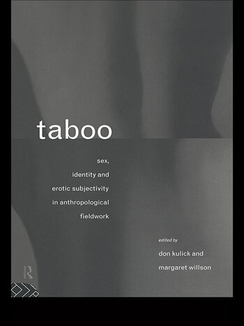 Taboo Sex, Identity and Erotic Subjectivity in Anthropological Fieldwork book cover