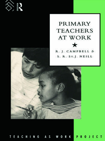 Primary Teachers at Work book cover