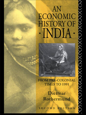 An Economic History of India book cover