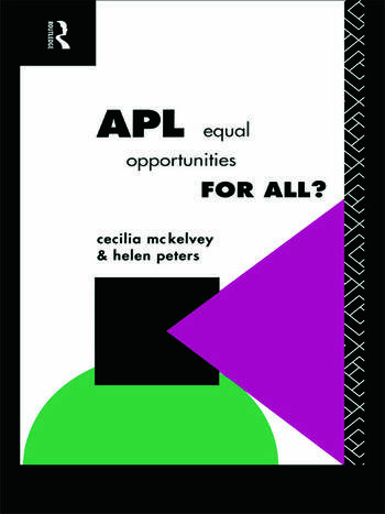 APL: Equal Opportunities for All? book cover