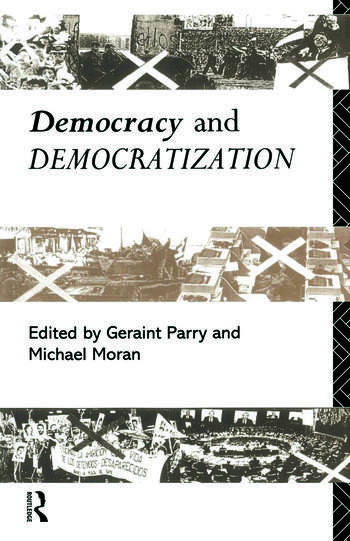 Democracy and Democratization book cover