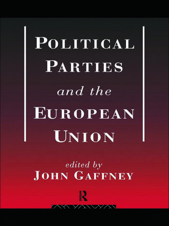 Political Parties and the European Union book cover