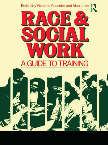 Race and Social Work A guide to training book cover