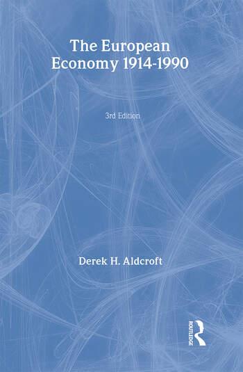 The European Economy 1914-1990 book cover