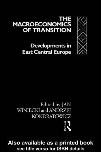 The Macroeconomics of Transition book cover