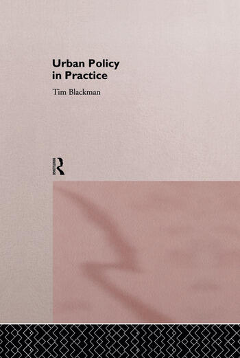 Urban Policy in Practice book cover