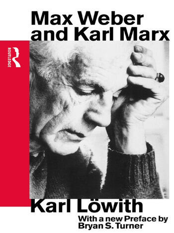 Max Weber and Karl Marx book cover