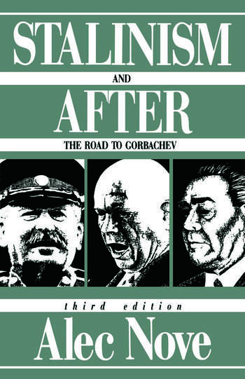 Stalinism and After The Road to Gorbachev book cover