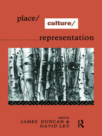 Place/Culture/Representation book cover